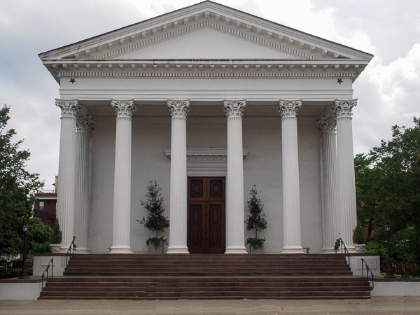 Fun things to do in Charleston : Trinity United Methodist Church.