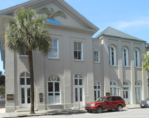 Fun things to do in Charleston : South Carolina National Bank.