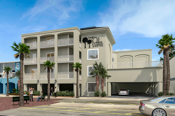 Fun things to do in Charleston : Palms Oceanfront Hotel in Isle of Palms SC.