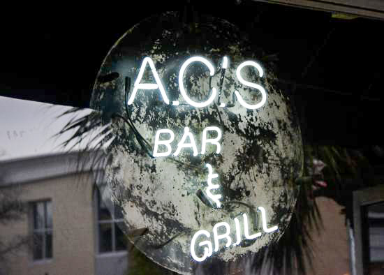Fun things to do in Charleston : AC's Bar & Grill in The Boroughs.