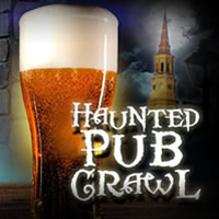 Haunted Pub Crawl in Charleston SC.